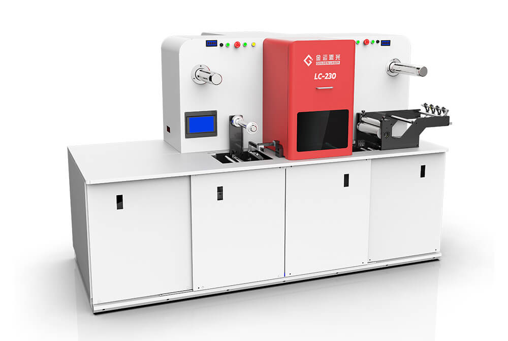 laser die cutter for label